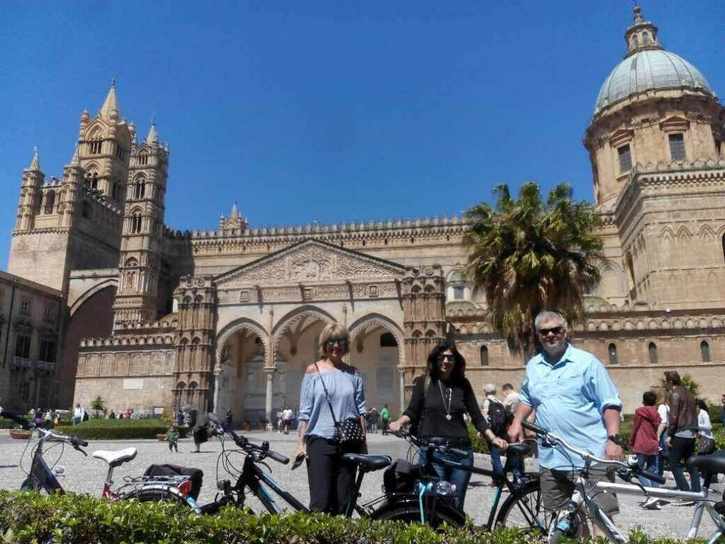 Palermo by bike tour Cattedrale