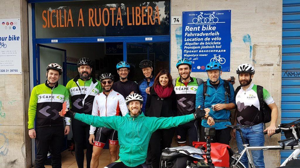 Sicily by bike - Road, Gravel bike Sicily - Sicilia a Ruota Libera - Giro d'Italia 2020