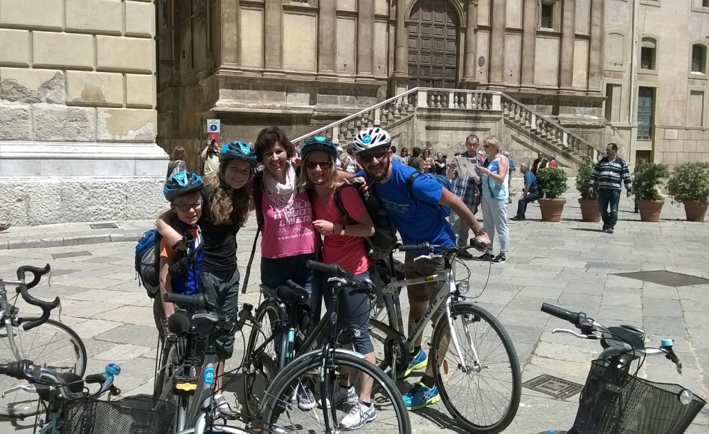 Palermo by bike tour in bici con Sicilia a Ruota Libera