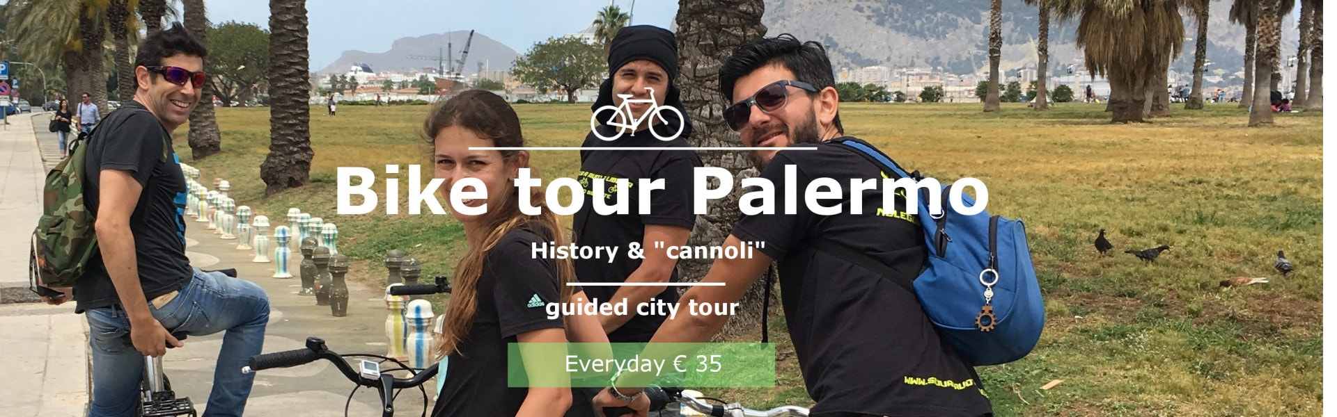 BIKE TOUR PALERMO Choosing ourbike tour Palermo you cycle with one of our comfortable bike Bianchi Spillo aroundtypical streets of the city, between baroque churches, palaces and picturesque markets that will inebriate of colors and unforgettable fragrances, or with a resistant MTB discover the landscapes suburban and you will be[...]